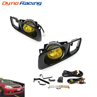 Yellow /Clear Fog Light lamp Halogen fit 99 00 FOR HONDA CIVIC 2/3/4 dr EK EM JDM Kit EX DX LX SI SiR HB HX YC100479