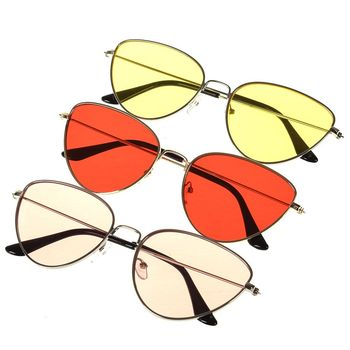 Sunglass for women Vintage Metal Eyewear Accessories