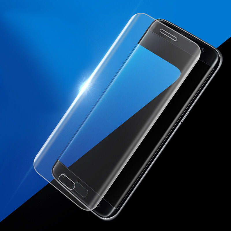 3D 9H Curved Full Cover Tempered Glass Screen Protector On The For Samsung Galaxy S6 / S6 Edge Plus Color Protective Glass Film