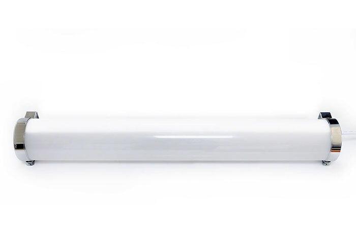 Lampe tubulaire imperméable de Tube du logement 80mm de PC d'appareil de LED IK10 IP67 haute résistance aux vibrations, Corrosion Durable