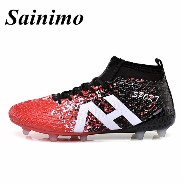 New men Football Boots Athletic Sneakers Racing Soccer Shoes voetbal  chuteira futebol Training sport shoes zapatos d9070948360aa