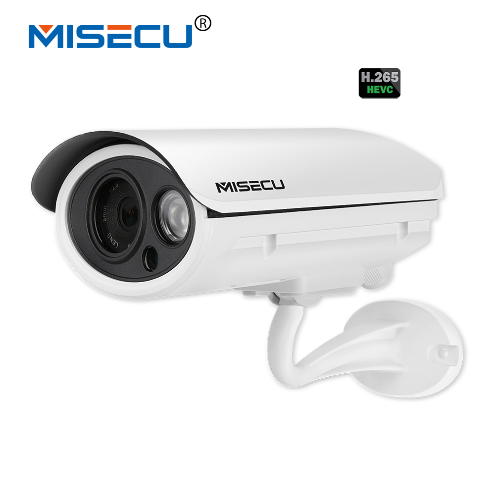 MISECU 4.0MP H.265/H.264 Bullet 2.0MP 25fps Onvif P2P Motion Detection RTSP Night vision XMEye 48V POE Security CCTV Waterproof free shipping original 100% tested work lcd a174v power board 715g1236 3 as