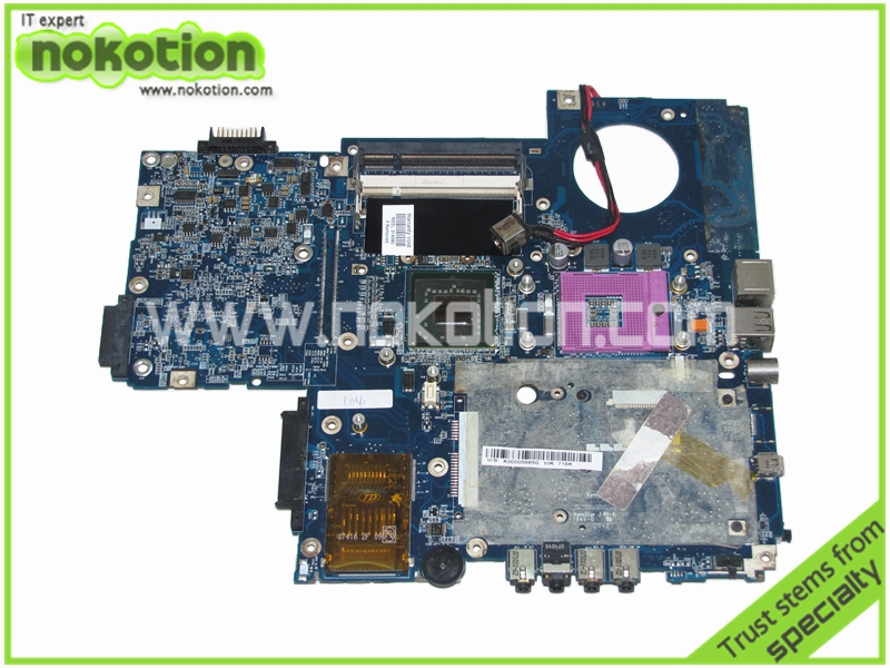 NOKOTION LA-3441P K000056650 for Toshiba satellite P200 Laptop motherboard ISRAA REV 2B 965GM DDR2 Mainboard full tested k000078990 motherboard for toshiba satellite l550 l555 la 4981p kswaa use ddr2 ram tested good