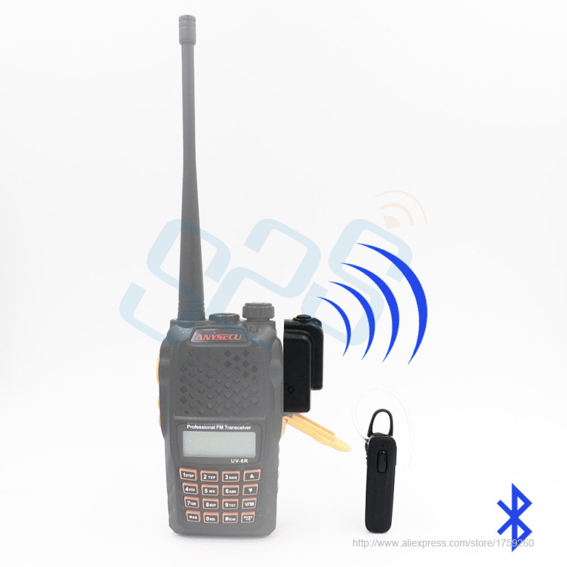 bilder für Neueste Walkie talkie Radio freisprecheinrichtung bluetooth-headset V3.0 version gelten für alle zweiwegradio hochwertigen bluetooth Headset