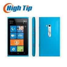 Nokia lumia 900 setzte ursprünglichen handy 3g gsm wifi gps 8mp 16 gb speicher windows-betriebssystem refurbished 1 jahr garantie