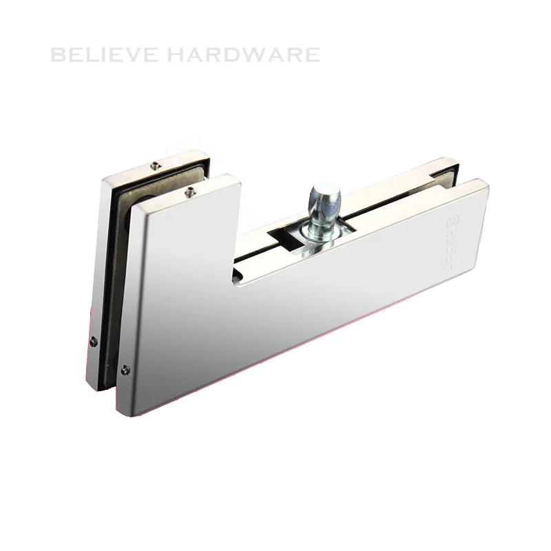 High Quality Glass Door Curved Clamp Patch Fitting Hardware Suitable for Tempered Glass HC-3140D patch pocket curved hem belted dress
