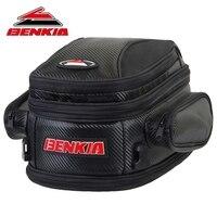BENKIA Motorcycle Bag Saddle Bag Back Seat Luggage Bags Motorcycle Riding Travel Luggage Handbag Black Moto Bags