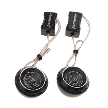 Doskonały dźwięk 2 szt. Samochodowy sprzęt Audio głośnik Stereo róg łatwy do zamocowania za pomocą subwoofera Audio estereo stereo president