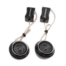 Som perfeito 2 peças de áudio do carro estéreo alto falante chifre fácil fixo com subwoofer áudio estereo estéreo presidente