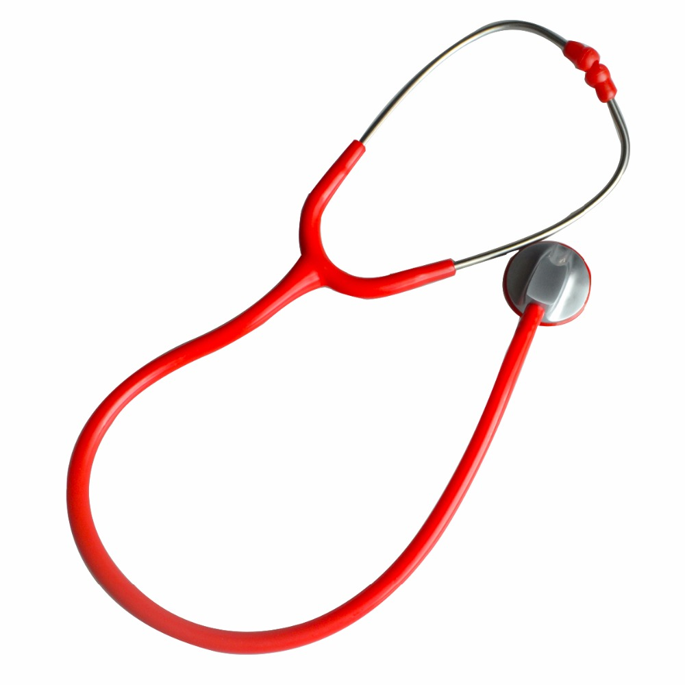 New Brand Professional Health Care Medical Estetoscopio Blood Pressure Single Head Cute Stethoscope