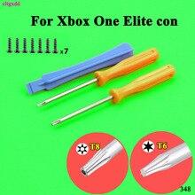 инструменты игры cltgxdd комплект для Xbox Один s тонкий / Elite контроллер типа Torx T8H T6 отвертка снести ремонт инструмента с помощью винтов