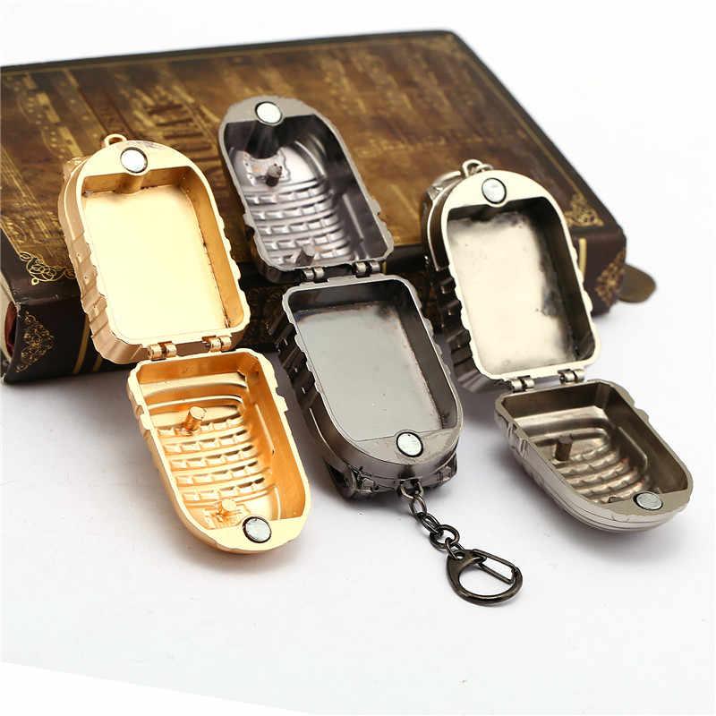 Campos de Batalha da Playerunknown Chaveiro de Metal Grande Nível 3 Saco Clef Pingente Anel Titular Chave Chian PUBG Porte Pode Abrir Lembrança