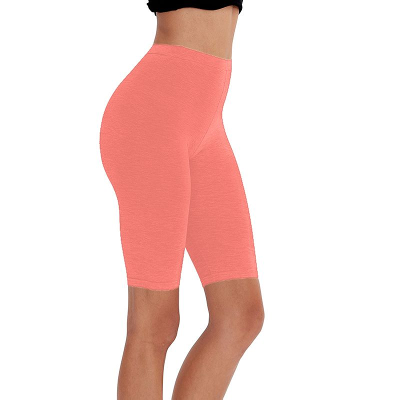 HTB1wzEbXUuF3KVjSZK9q6zVtXXaT - 95% cotton 5% spandex women slimming running shorts skinny very soft highly stretchy girl short M30292