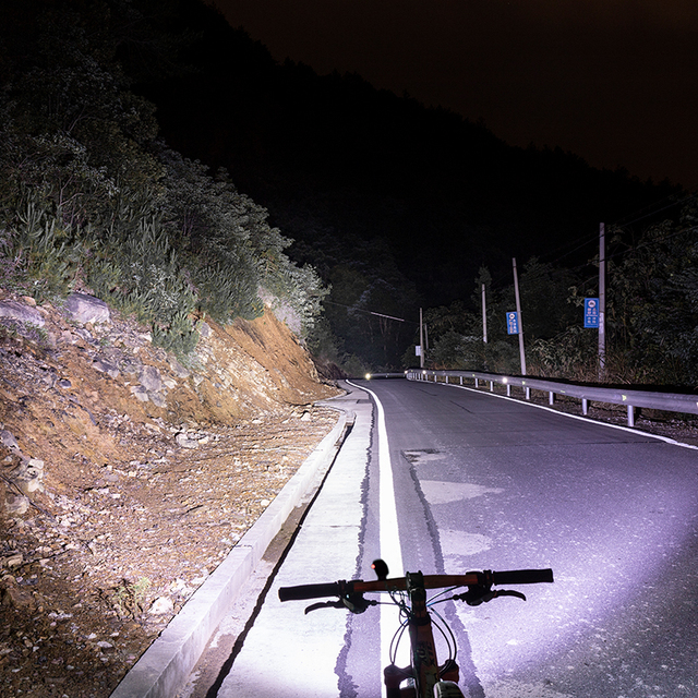 Rockbros luz de capacete para bicicletas 400lm, luz dianteira, luz para guidão ou capacete, ciclismo, recarregável, luz piscante de segurança, luz traseira 4