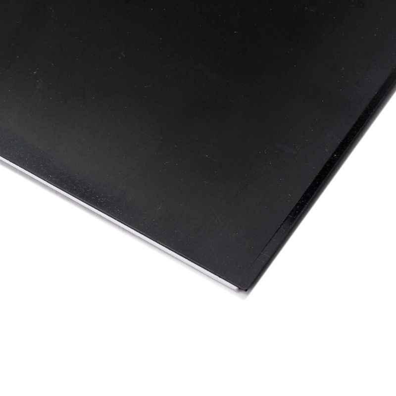 Пластиковый 3ply гитарный корпус пустые царапины пластины накладки лист черный