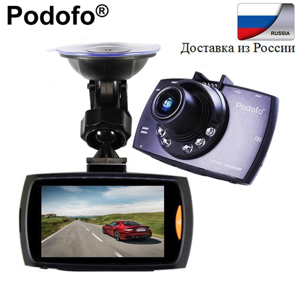 Podofo Car Camera G30 Full HD 1080P Car DVR Recorder Motion Detection Night Vision G-Sensor Registrar Loop Recording Dashcam