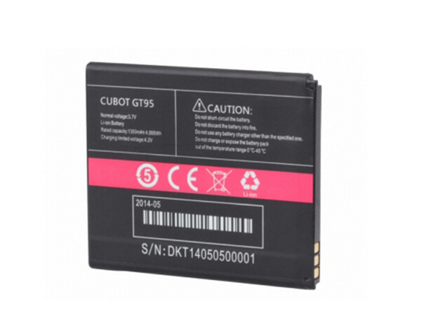 Cubot GT95 Battery Brand New Original 1350mAh Li-ion Replacement for Smart Phone In stock
