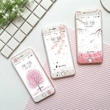 3D Изогнутые Матовый Закаленное Стекло Для iPhone 6 6 s Plus Мода 9 H Углеродного Волокна Фильм Полный Экран Покрыт Протектор Для 7 7 Плюс