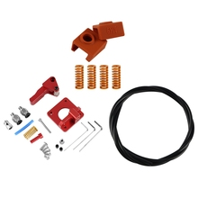 3D Printer Accessories Ptfe Spring Extruder Kit For Creality Cr-10S Pro Ender-3 (Left) 3d Printer Parts 3d Sensor Hotend Triang