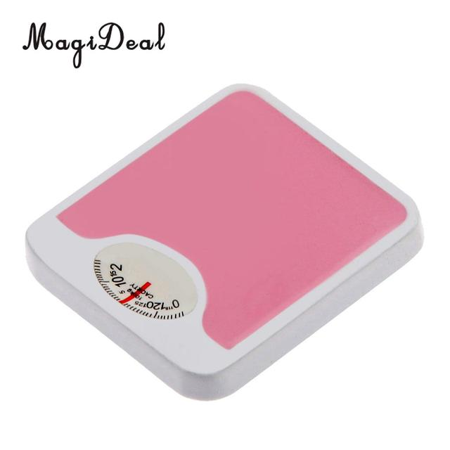 MagiDeal Top Sale 1Pc 1/12 Scale Dolls House Miniature Metal Weight Scales for Bedroom Decor Children Toy 2 Colors 230x260mm