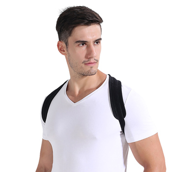 Corrector de postura Espalda Hombro Vendaje Corrección de Personal de  Protección Posterior Positivitism Hombres Mujeres Cinturón para La Espalda  2 Tipos 65693118ebe8