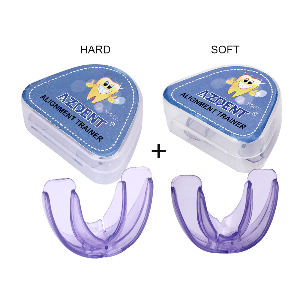 Dental Orthodontic Braces Soft And Hard Tooth Appliance Aligners Trays Teeth Straightener High-tech Transparent Teeth Retainer