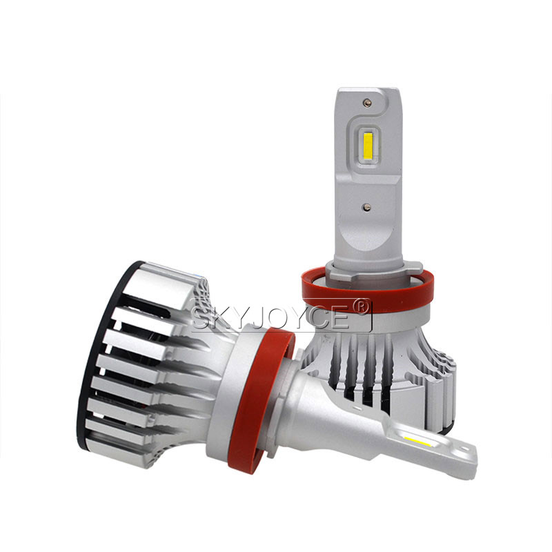 1 Set Car LED Headlight Kit F2 H4 H7 H1 H11 HB3 9005 HB4 9006 LED Bulb 72W 12000LM CSP Chips Turbo Fan 6500K Auto Headlamp Bulbs (2)
