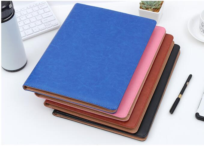 Cheap Price Good Quality Letter Size  A4 PU Leather Folder, Document Folders With Calculator