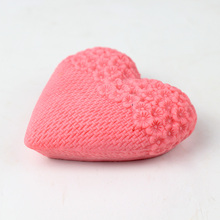 3D Love Heart Silicone Soap Mold Flowers Shaped DIY Candel Chocolate Mould Art Tools for Making