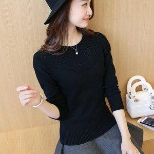 Image 4 - OHCLOTHING เสื้อกันหนาวหญิงหญิง Pullovers ฤดูใบไม้ผลิ 2019 สไตล์ใหม่ Slim เสื้อกันหนาวแขนยาวและ Slim สไตล์