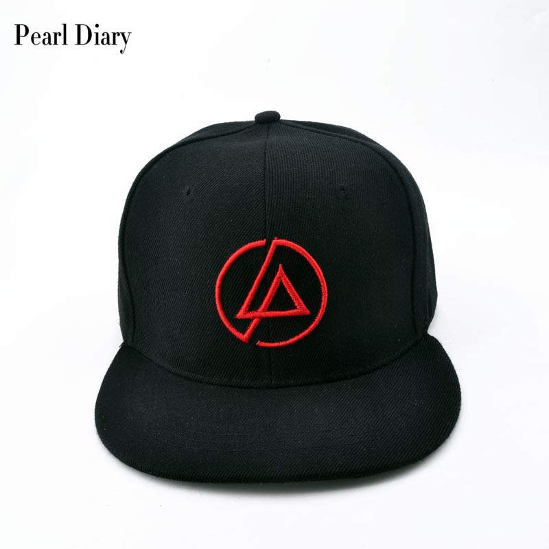 Linkin Park Rock cap Embroidery Men's baseball caps cotton Band hat Casual snapback hats hip hop for men dad cap letter embroidery dad hats hip hop baseball caps snapback trucker cap casual summer women men black hat adjustable korean style