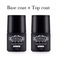 Perfect Summer Nail Gel Polish Top Coat Base Gel High Quality Long Lasting Nail Gel Base