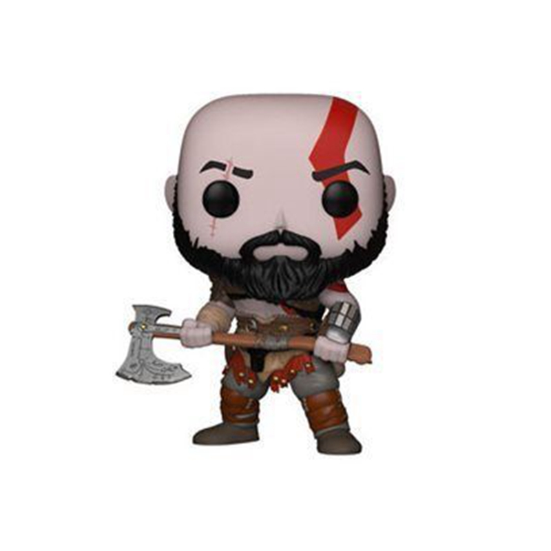 God of War The Servant of Ares Kratos Action Figure Doll kids Christmas Gift Toy No Box 269# ypz stereo bass earphone dual drive sport headset sweat proof ear hook earbuds hifi handsfree with mic for iphone xiaomi mp3 mp4