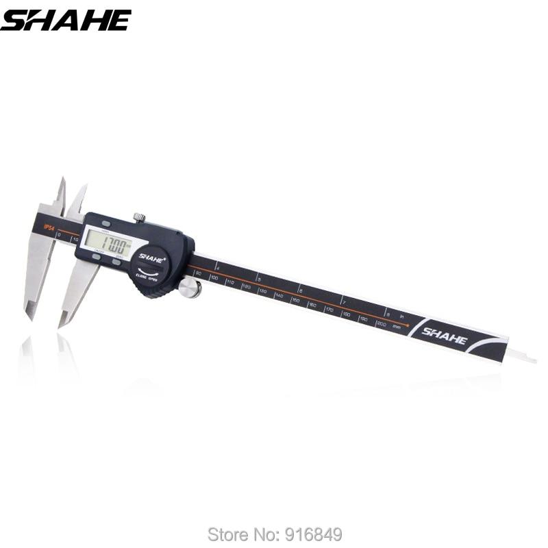 цена shahe digital vernier caliper micrometer electronic ruler paquimetro stainless steel digital calliper