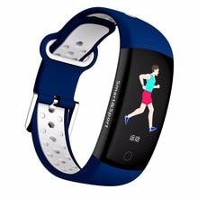 Smart Wristband Fitness Tracker Bracelet HR Blood Pressure Band Waterproof Ip68 Activity
