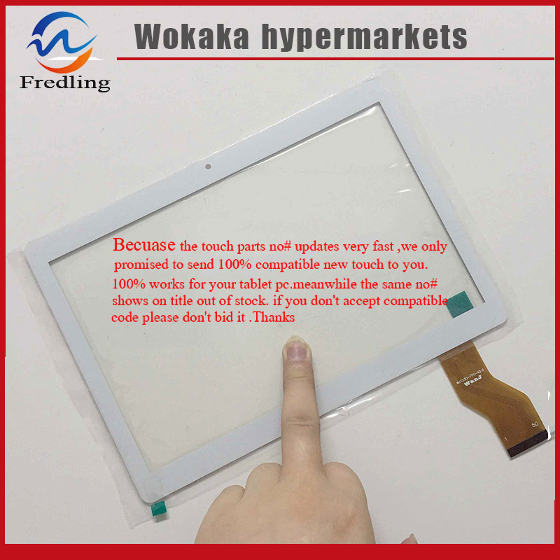 New Capacitive Touch Screen Panel Digitizer For 10.1 Onda V10 3G Tablet Glass Sensor Replacement Free Shipping 7 inch tablet capacitive touch screen replacement for bq 7010g max 3g tablet digitizer external screen sensor free shipping
