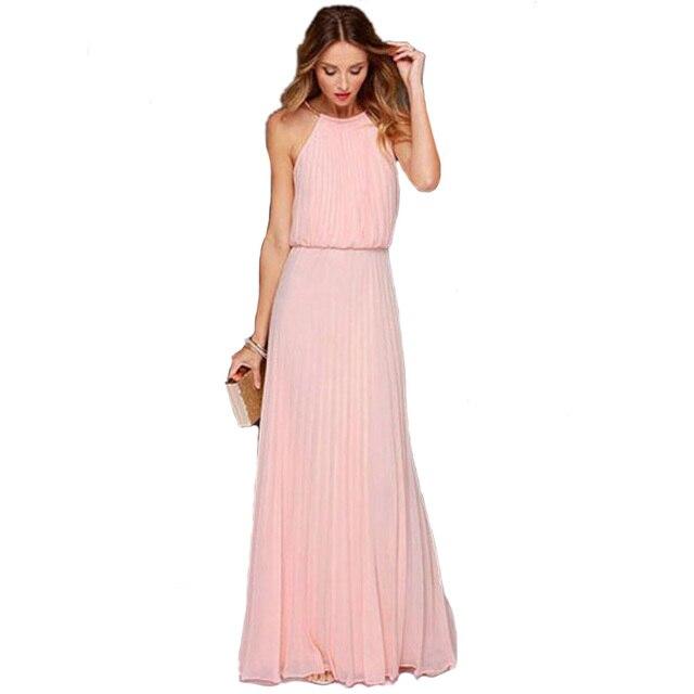 Vaak Lange jurken roze – Populaire fotojournal van avondjurken #SV15