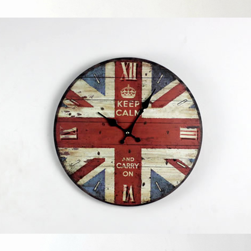 Online Buy Wholesale large wall clocks uk from China large wall