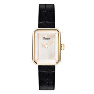 Image 3 - EIMA Top Luxury Women Leather Strap Quartz Wristwatch Fashion Casual Lady Watches Feminino Relojes