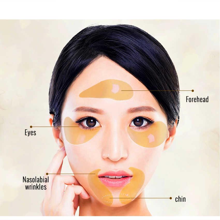 80 adet 1 Şişe Göz Maskesi Yüz Kollajen Jel Yamalar anti-şişlik için
