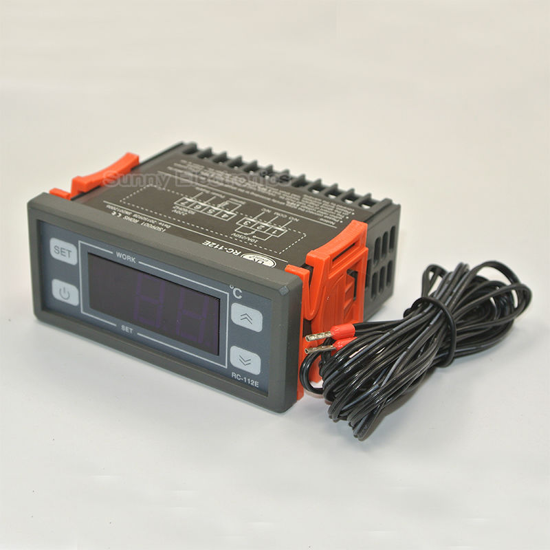 RC-112E 230V10A Cool Heat AAN / UIT Relaisschakelaar Universele digitale temperatuurregelaar Regulator Thermostaat