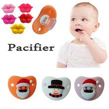 MQATZ Funny Lip Baby Pacifiers Dummy Nipple Teethers Exaggerated Pattern Soothers Teat for Infant Baby Silicone Pacifier Gift(China)