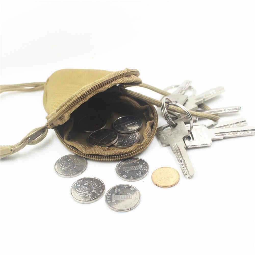مصغرة مفتاح الحقيبة المحمولة محافظ المفاتيح عملات أكياس أكياس العسكرية الرجال التمويه السوستة أكياس الرياضة حقيبة قاعة رياضة الساخن 2019