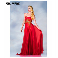 Free send 2018 New Products A line dress party dress prom dress to the floor panel with a long bridesmaid dress Mermaid