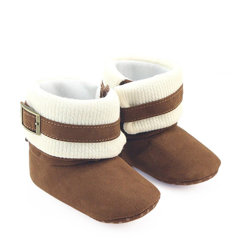 TELOTUNY Prewalker Warm Shoes Boots Crib Toddler Newborn Baby-Boys Winter Girl Cotton