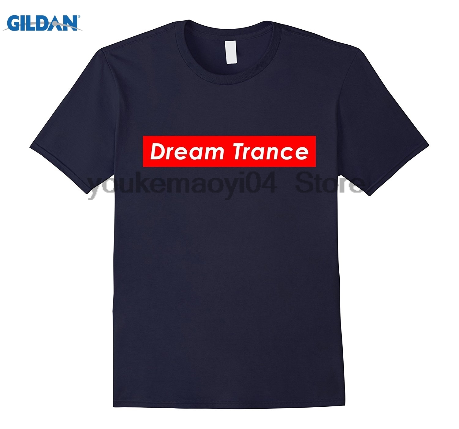 GILDAN Dream Trance EDM Genre Electronic Dance Music Festival Shirt The latest funny carnival music T-shirt