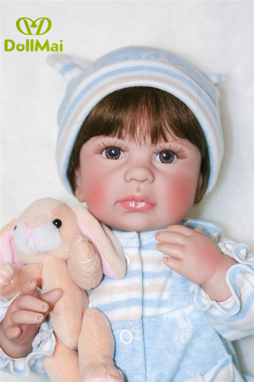 Vrai nouveau-né bébé garçon poupées 18
