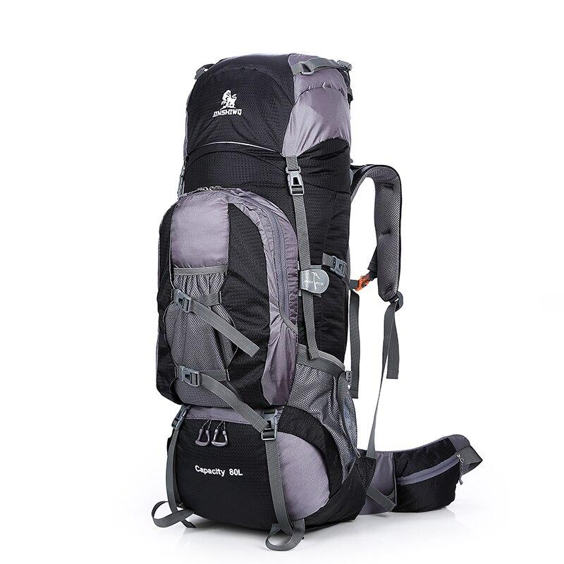 Grand sac à dos extérieur 80L voyage escalade sac à dos randonnée Sport sac Camping sac à dos grande capacité montagne sac à dos