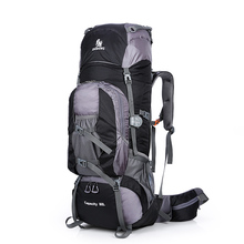 Большой 80л открытый рюкзак путешествия альпинизм рюкзак походная спортивная сумка походный рюкзак большой емкости Горный рюкзак