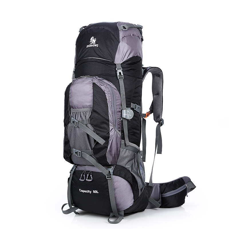Large 80L Outdoor Backpack Travel Climbing Backpack Hiking Sport Bag Camping Backpack Big Capacity Mountain Rucksack